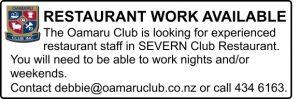 Oamaru Club Oamaru Telegram issue 336
