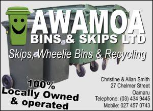 Oamaru Telegram Issue 337 Awamoa Bins and Skips