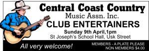 Oamaru Telegram Issue 337 Central Coast Country Music