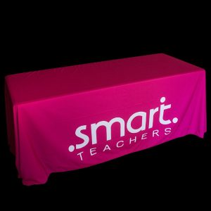 Table cloths for events and marketing