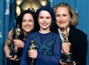 Three Oscar winners for The piano (Academy of Motion Pictures Arts and Sciences, 6416_1991)