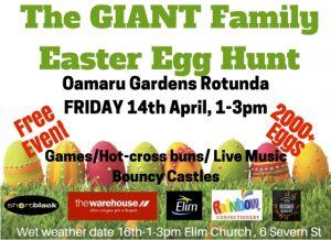 Easter Egg Hunt Oamaru Telegram