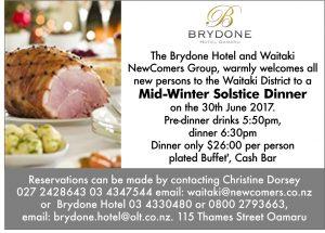 Brydone Hotel Oamaru Telegram 348