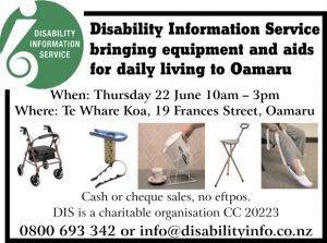 Disability Information Service Oamaru Telegram