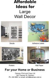 Oamaru Print and Copy Ltd Oamaru Telegram 348 Posters, decals, and wallpaper printing