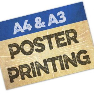 A4 and A3 Poster Printing