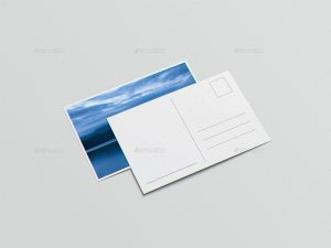 A6 Flyer Postcard Invitation printing custom made