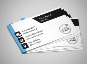 Business Cards single sided